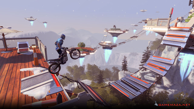 Trials Fusion Empire of the Sky Gameplay Screenshot 3
