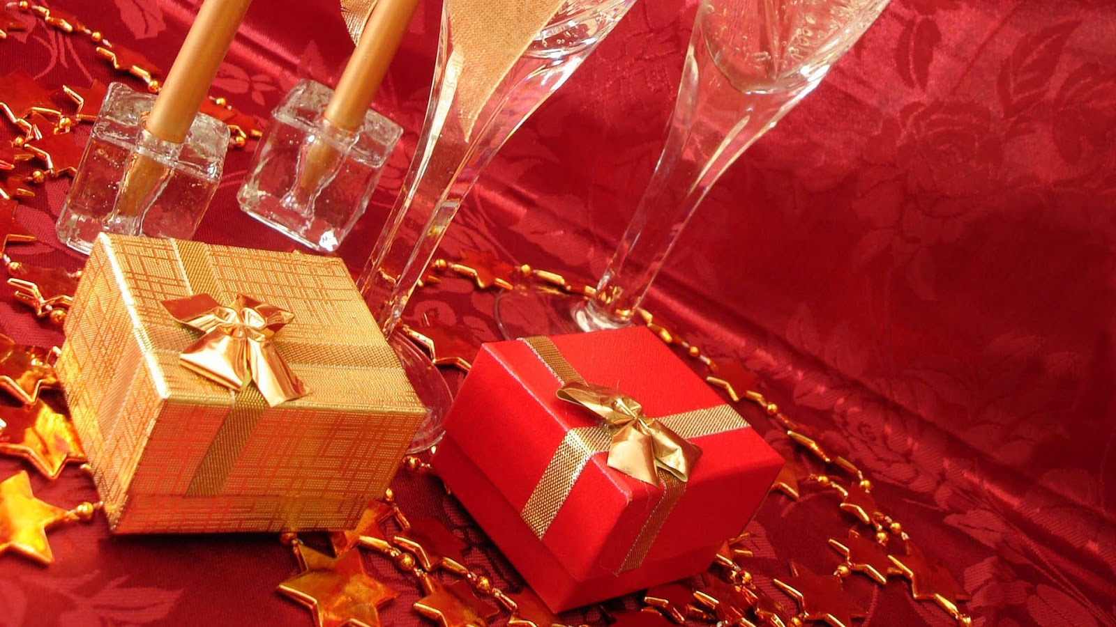 New Year And Merry Christmas Gifts Hd Wallpapers Pictures