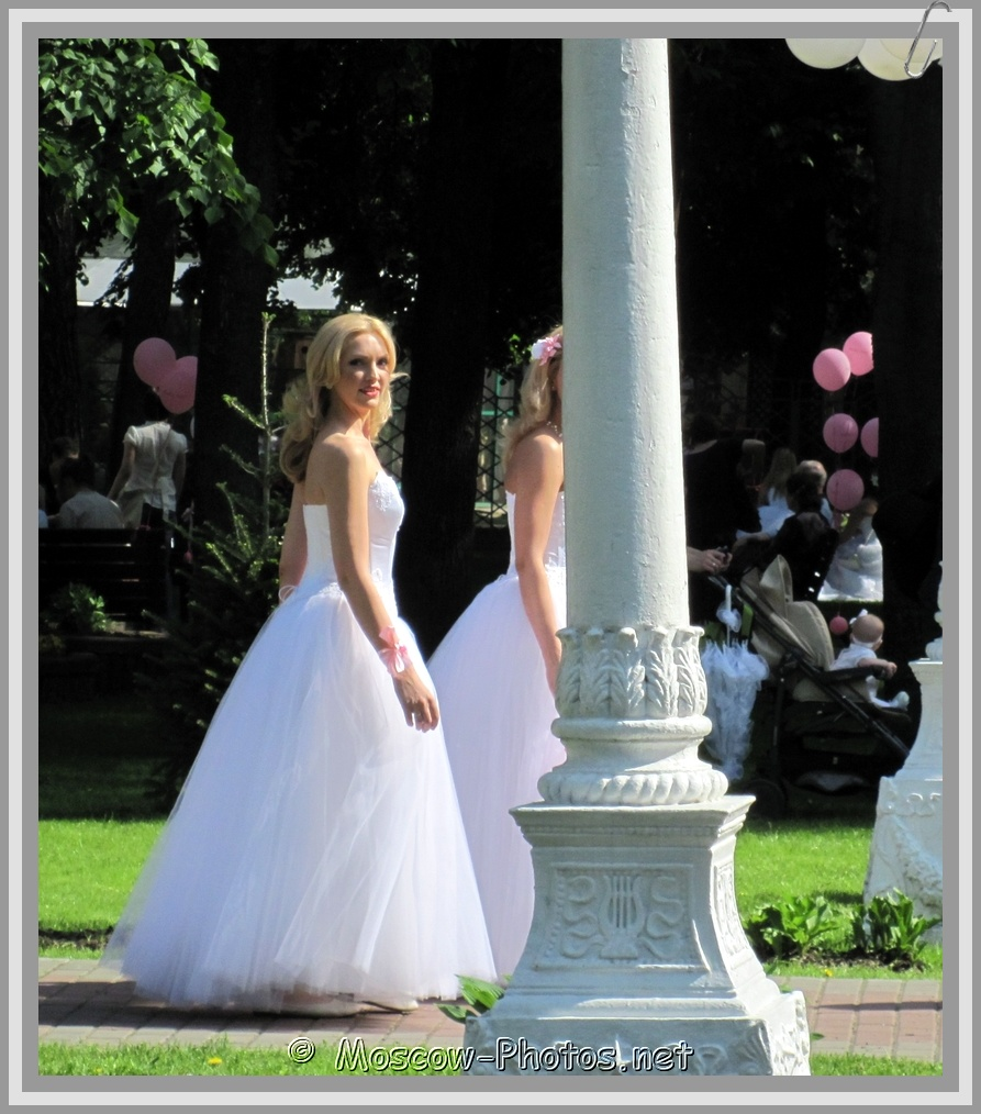 Moscow Blonde Runaway Bride 2011