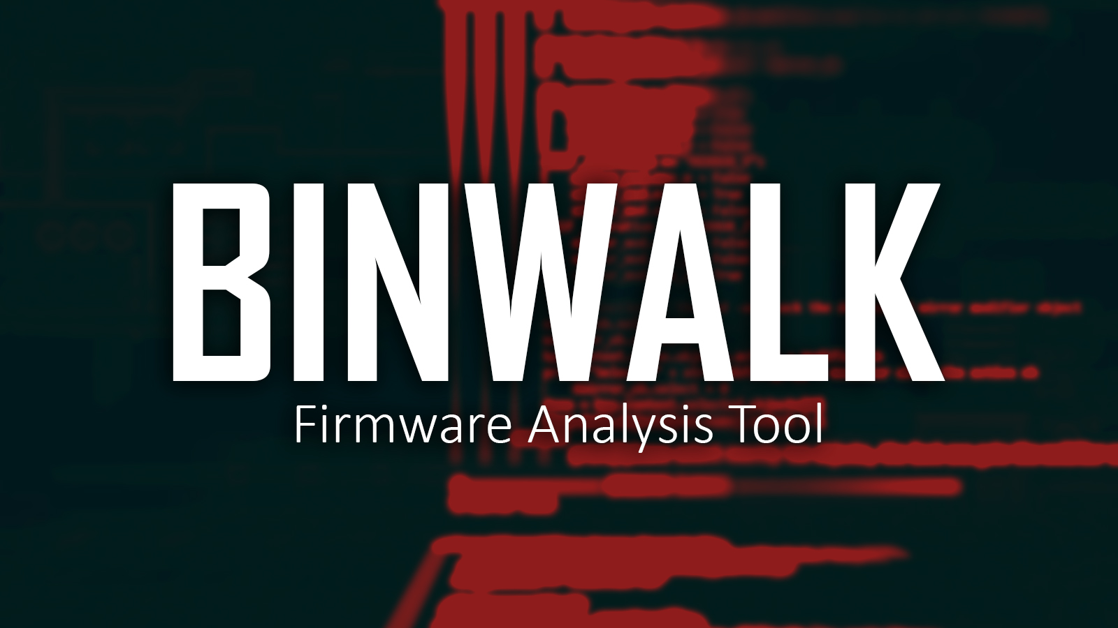 Binwalk - Firmware Analyzer