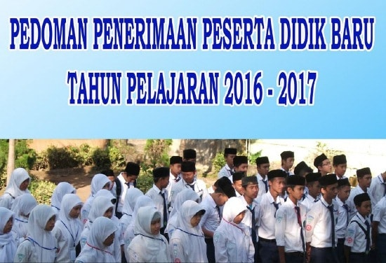 Pedoman PPDB Madrasah Tahun 2016 - 2017