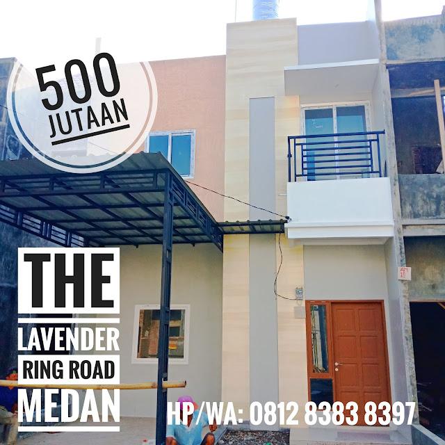 Jual Rumah Tipe Azalea Siap Huni Di Komplek The Lavender Belakang Ring Road City Walk Sunggal Medan