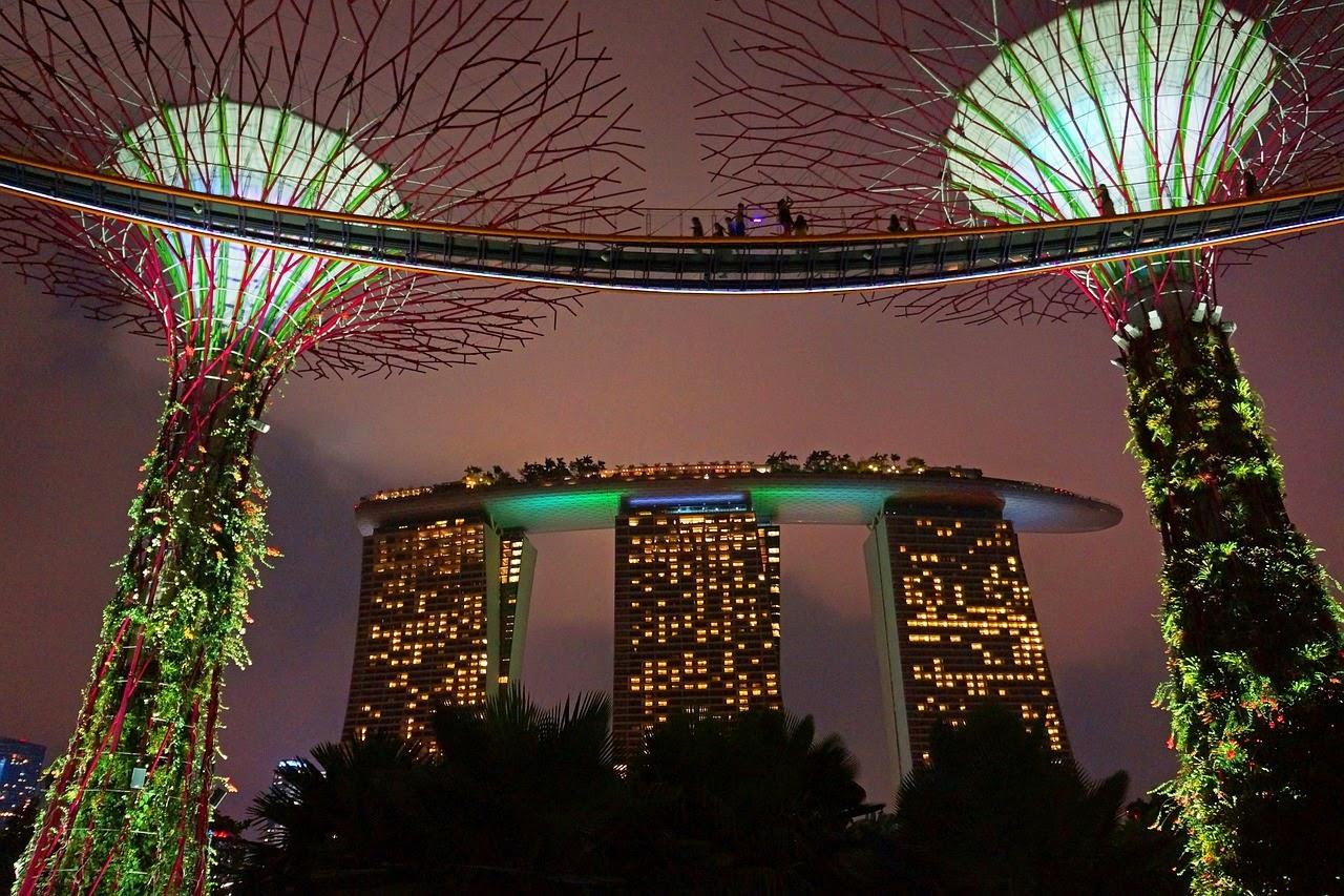 Garden By The Bay | Taman Buatan Di Teluk Singapura