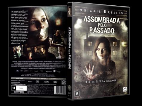 Capa DVD Assombrada Pelo Passado