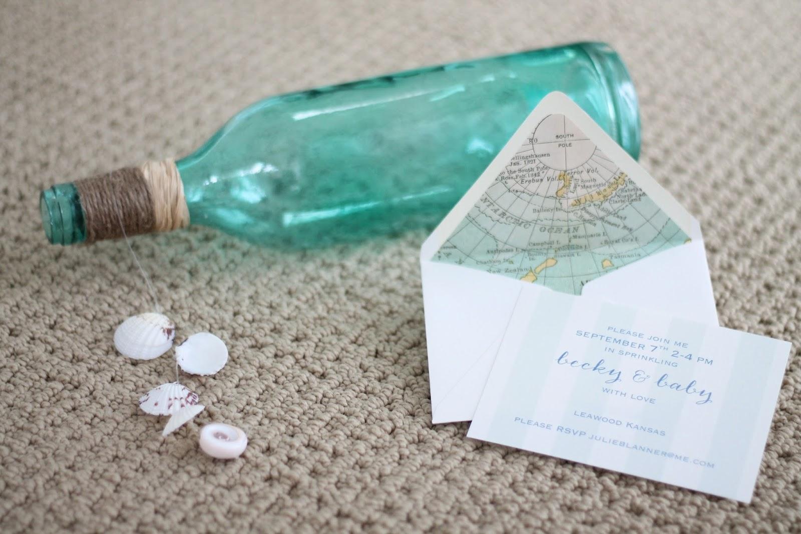 Diy Baby Shower Invitations Boy | PaperInvite