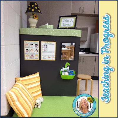 Wonderful alternative to behavior charts and time out!  Reduces classroom disruption and encourages self regulation.
