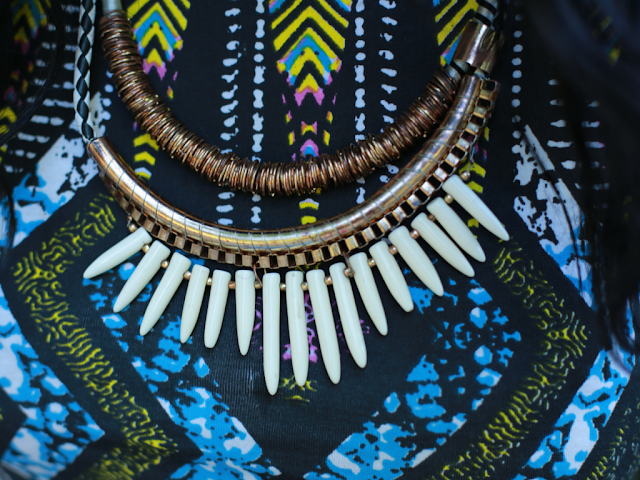 NEW LOOK TRIBAL NECKLACE