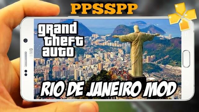 GTA RIO DE JANEIRO MODIFICADO PARA PPSSPP, PSP,ANDROID
