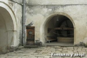 Криниця у дворі замку