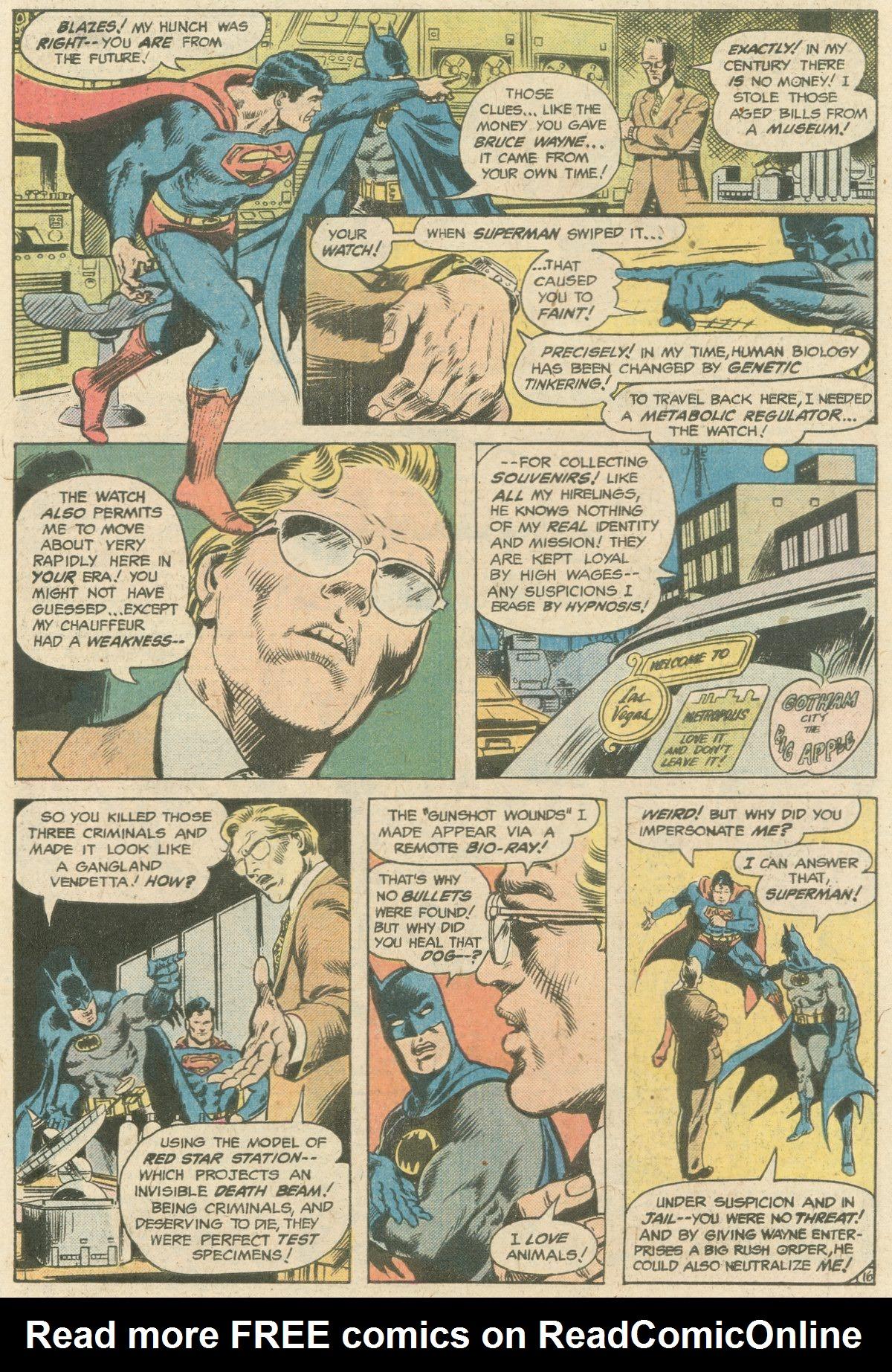 Read online World's Finest Comics comic -  Issue #244 - 23