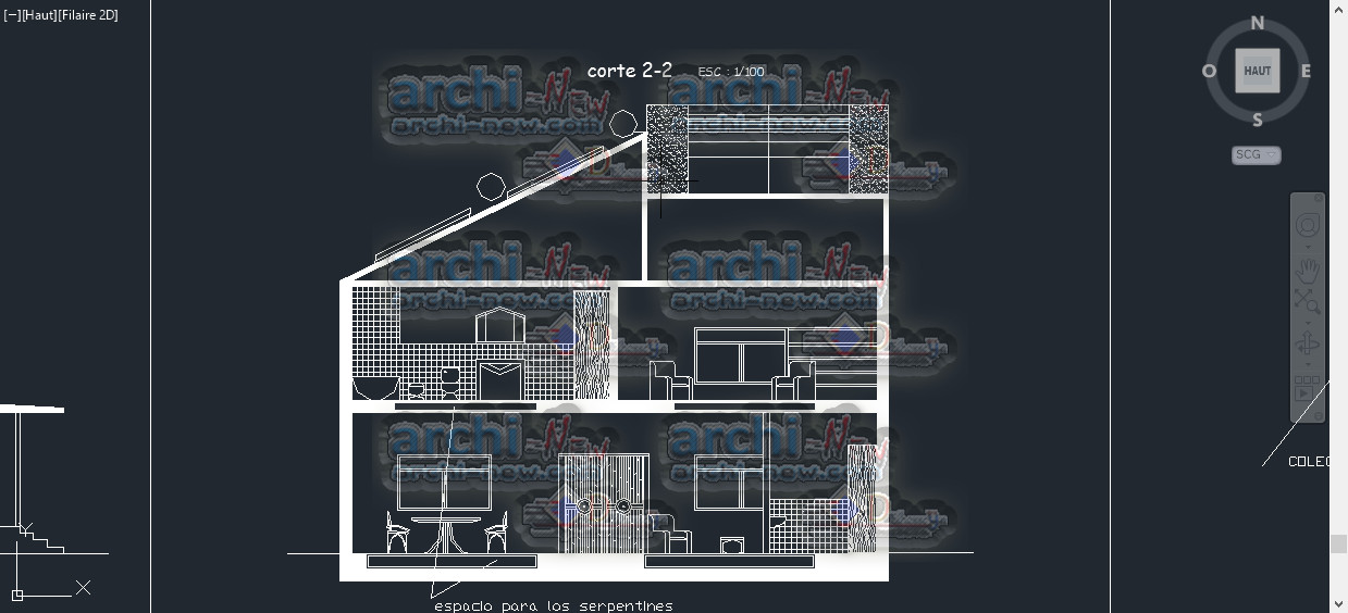 Download autocad cad dwg file biotecture house with for House cad file