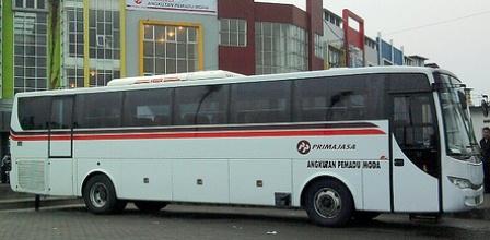 Rute Jadwal Tarif Bus Primajasa ke Bandara Soekarno Hatta