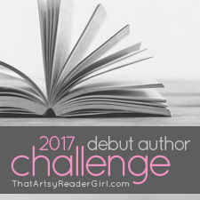 2017 Debut Author Challenge banner
