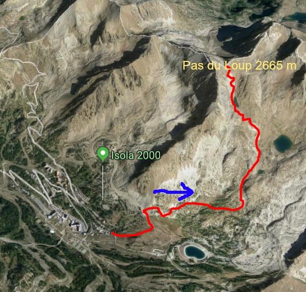 Pas du Loup trail image