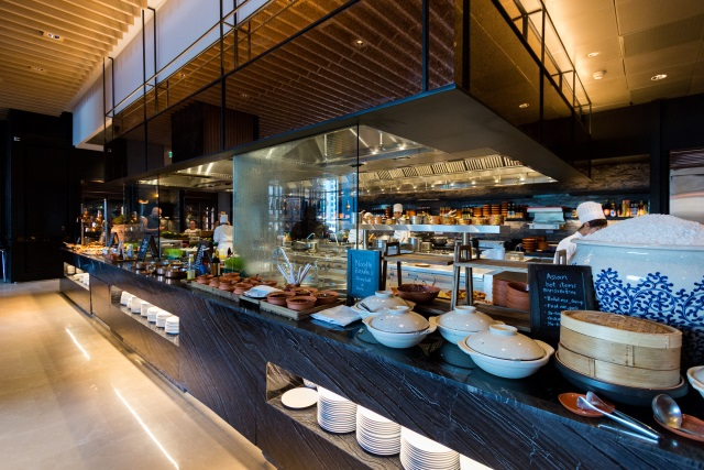 Buffet Breakfast at Market Café, Hyatt Regency Bangkok Sukhumvit