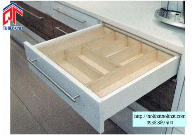 Vì sao phụ kiện lại có tầm quan trọng với tủ bếp?