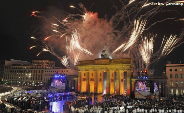 Berlin on New Year's Eve