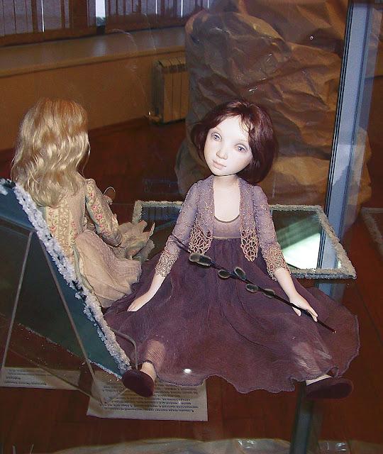 """Выставка авторской куклы в Самаре """"Куклы. Эмоции. Чувства."""",  """"Арина """". Автор Татьяна Малушкина (Самара)"""