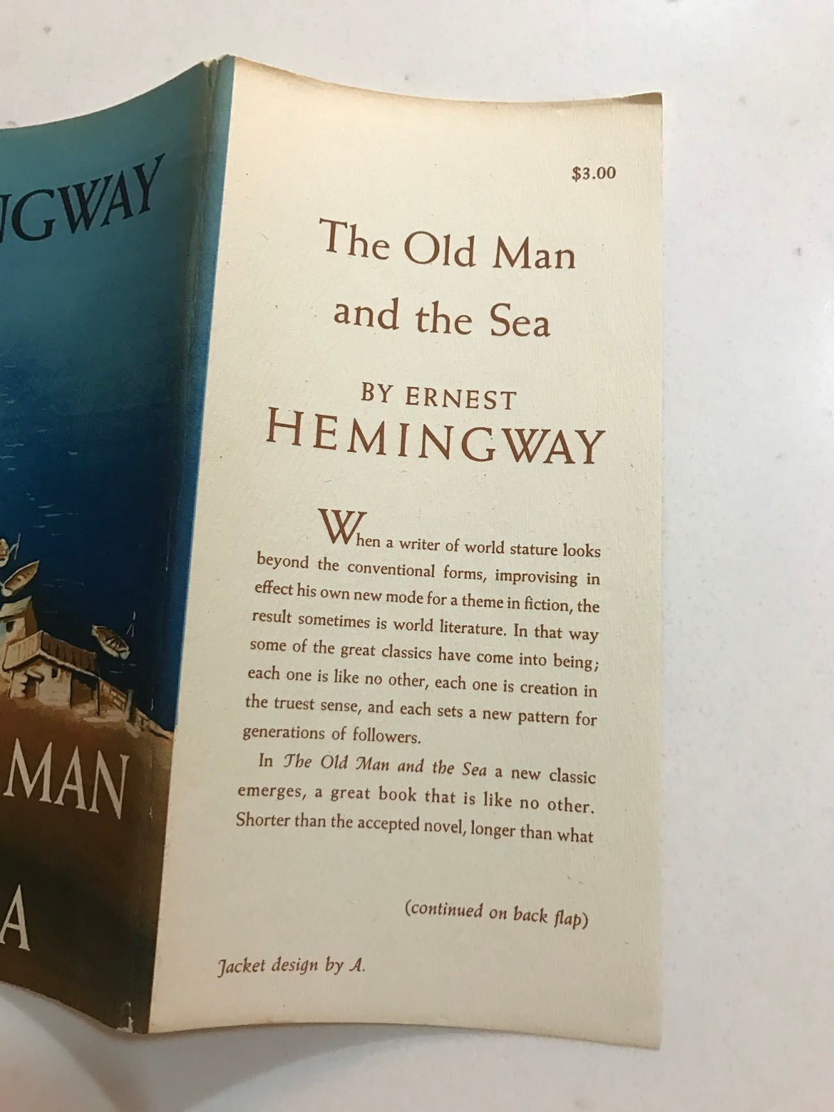 literary analysis of the novel the old man and the sea by ernest hemingway The old man and the sea analysis an analysis on the old man and the sea look into how ernest hemingway focuses on the key issue that there is honor found in struggling toward a goal, even if one does not succeed.