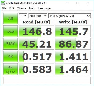 Transcend StoreJet 25MC 1TB Performance Review 40