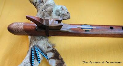 venta de flauta nativa americana Sol
