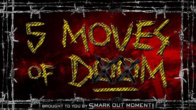 WWE Finishers 5 Moves of Doom moveset signature moves