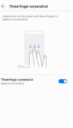 Cara Mudah Mengambil Screenshot di Huawei P30 / P30 Pro 3