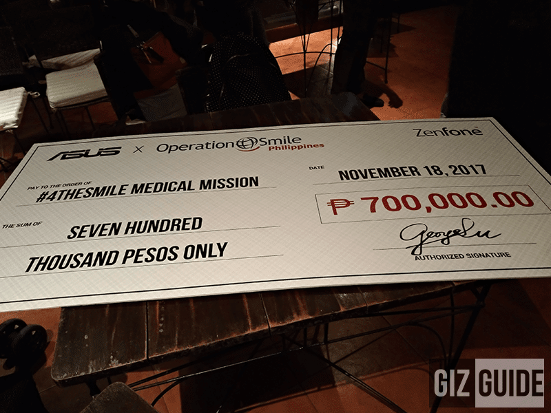 The donation of ASUS Philippines
