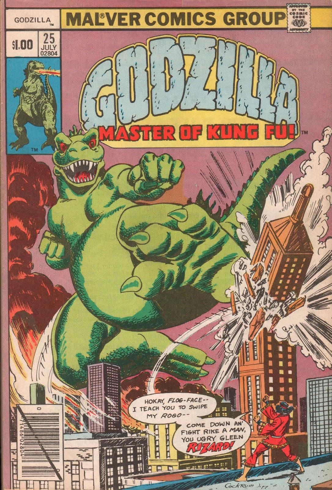 Comic Book Oddities: Godzilla, Master of Kung Fu