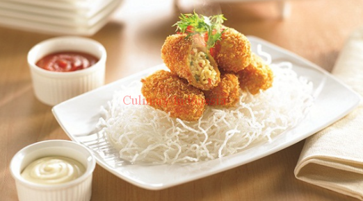 Recipe chicken noodle kroket culinary indonesia chicken croquettes recipe bbc food recipes chicken noodle miso soup quick and forumfinder Image collections