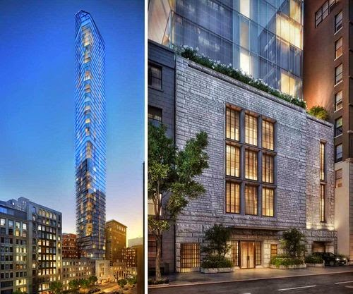 Under Construction Will Be The Tallest Building In Flatiron District When Completed 2017 It Have 65 Floors With 83 Apartments At 777 Feet