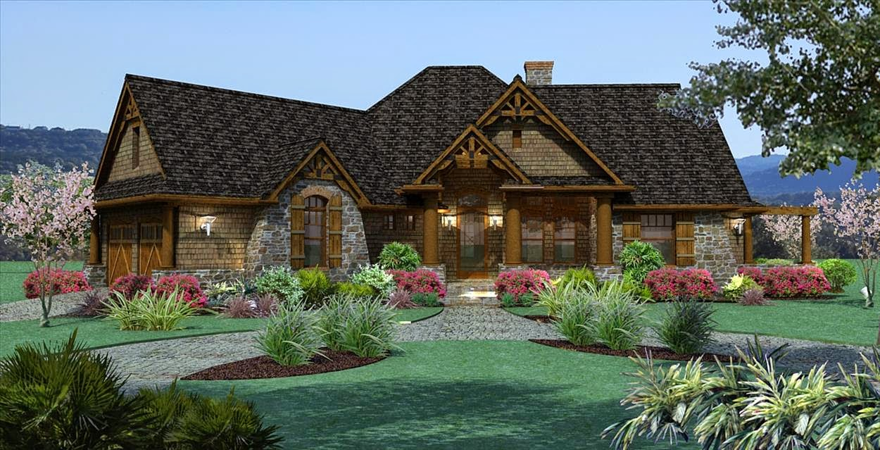 Country House Design Ideas - HomeDIB