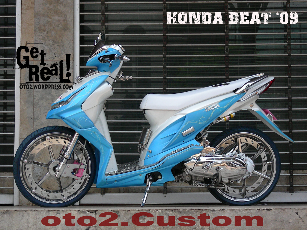 Modifikasi Keren Honda Beat