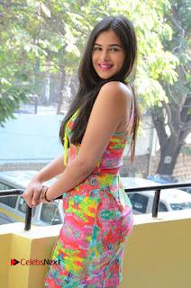 Telugu Actress Prasanna Stills in Short Dress at Inkenti Nuvve Cheppu Press Meet Stills  0044.JPG
