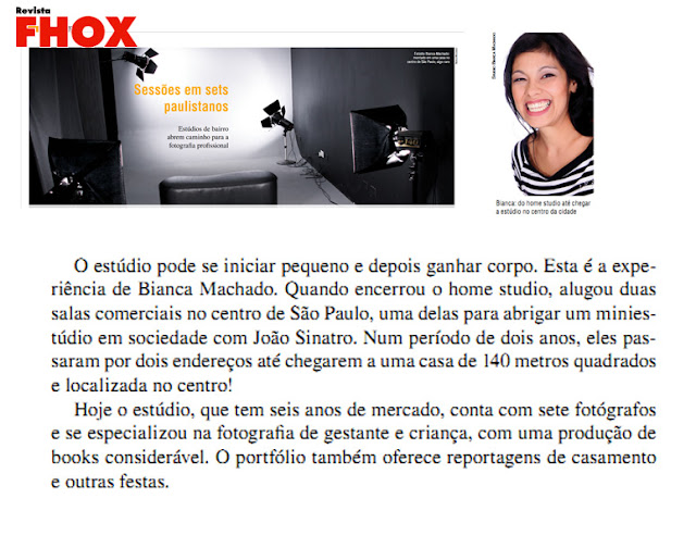 Studio Bianca Machado Revista Fhox