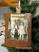 Mini Clipboard Ornaments