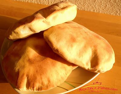 Pão Pita - Pão Sírio