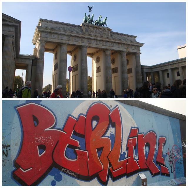 Portão de Brandemburgo e Muro de Berlim - East Side Gallery em Berlim