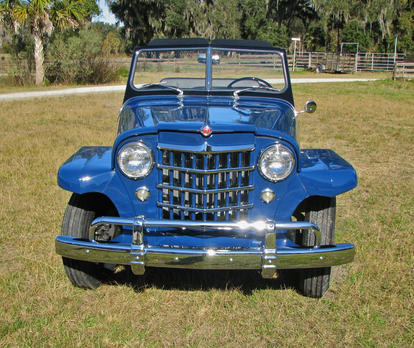 All American Classic Cars: 1950 Willys Jeepster