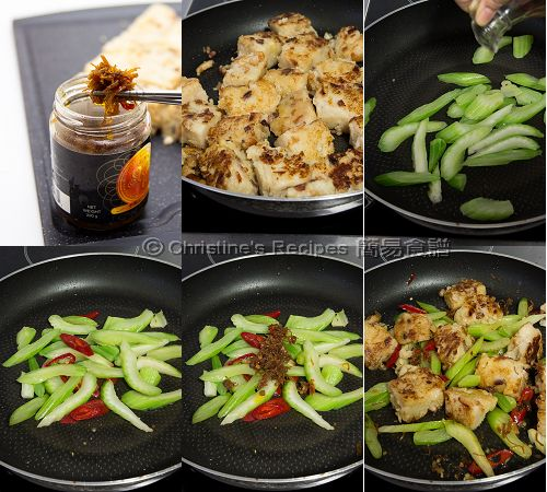 XO 醬炒蘿蔔糕製作圖 How To Make Pan-fried Radish Cake with XO Sauce