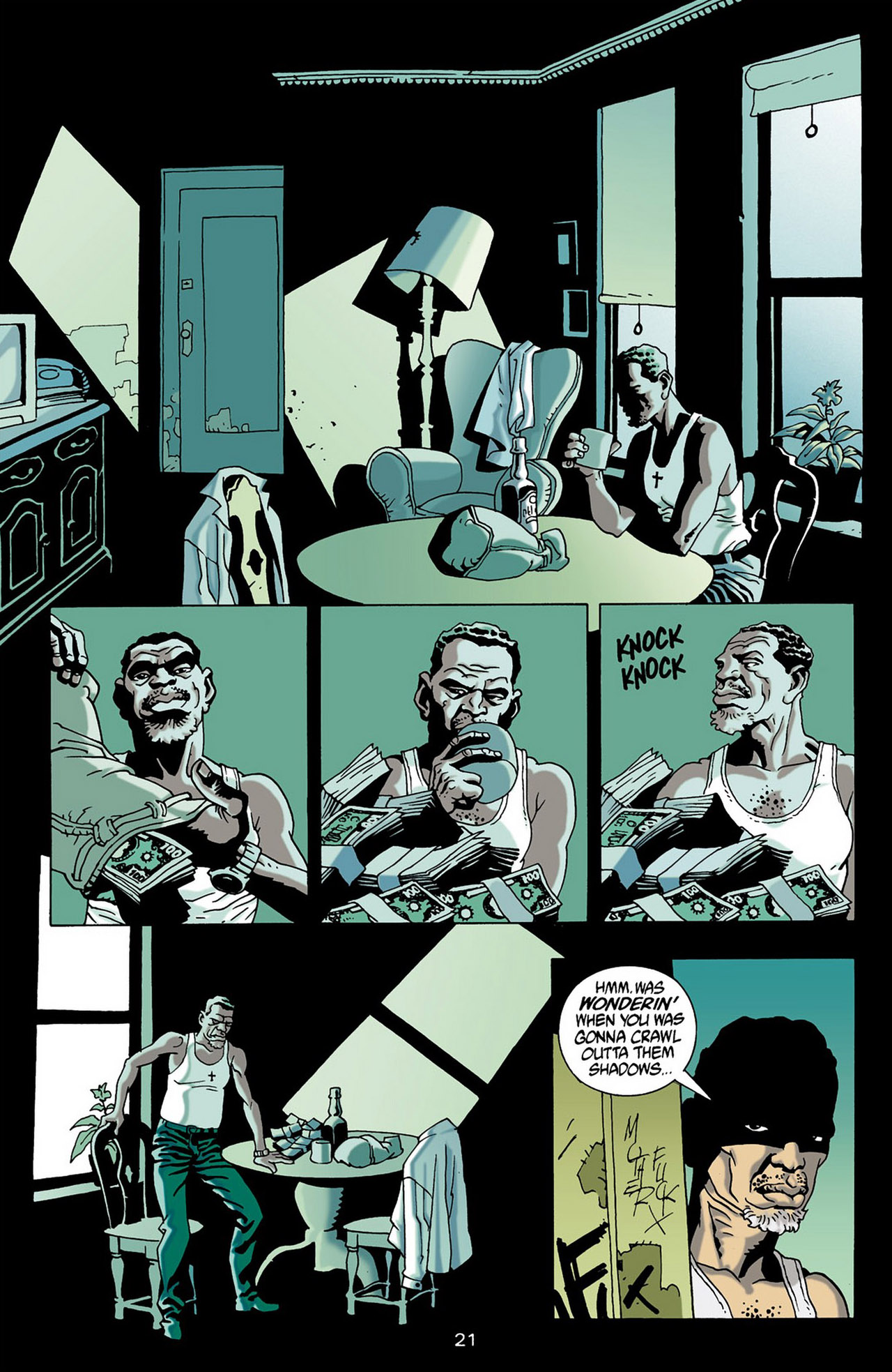 Read online 100 Bullets comic -  Issue #16 - 22