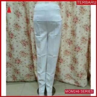 MOM246C14 Celana Hamil Putih Xl Formal Celanahamil Ibu Hamil