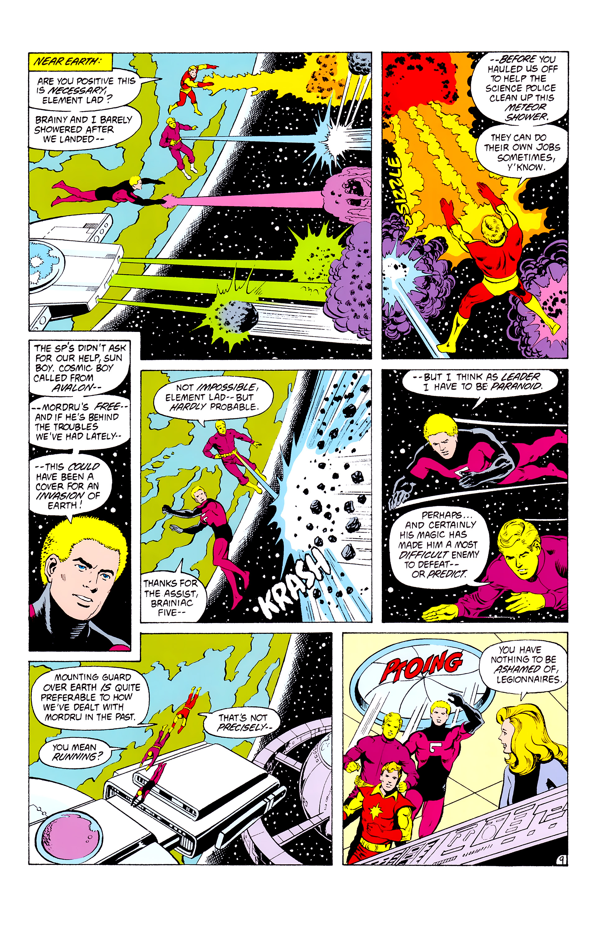 Legion of Super-Heroes (1980) _Annual_3 Page 9