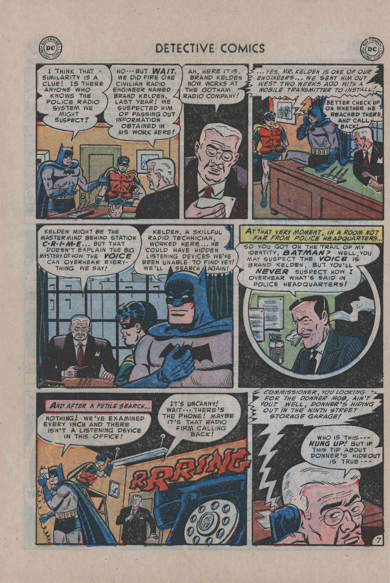Read online Detective Comics (1937) comic -  Issue #200 - 10