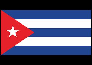 Cuba flag Logo Vector