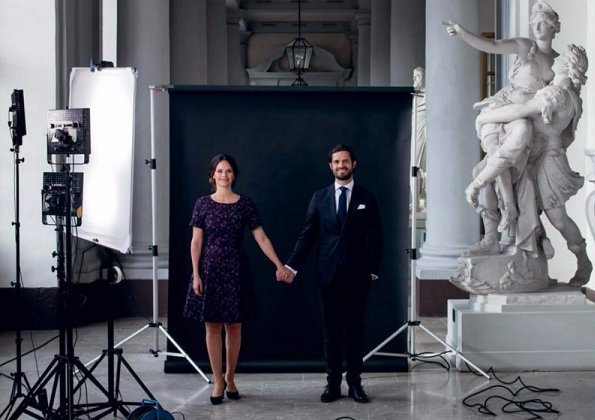 Prince Carl Philip and Princess Sofia gave an interview to 'Kupé'