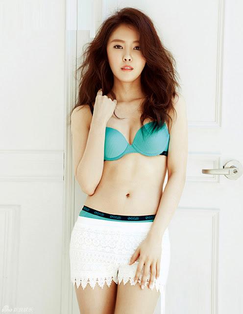 Hot girls Sexy korean ladies with waist 50cm 7