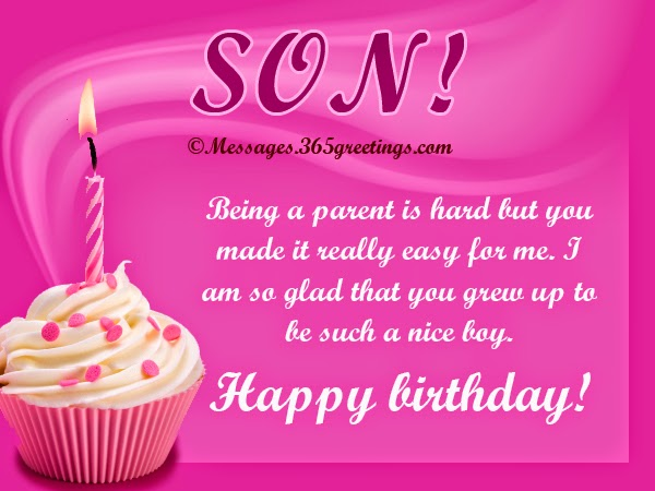Birthday Wishes Card For Your Son Islamicbirthday