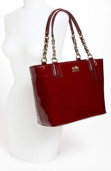 Coach Madison Patent Leather Tote 20484