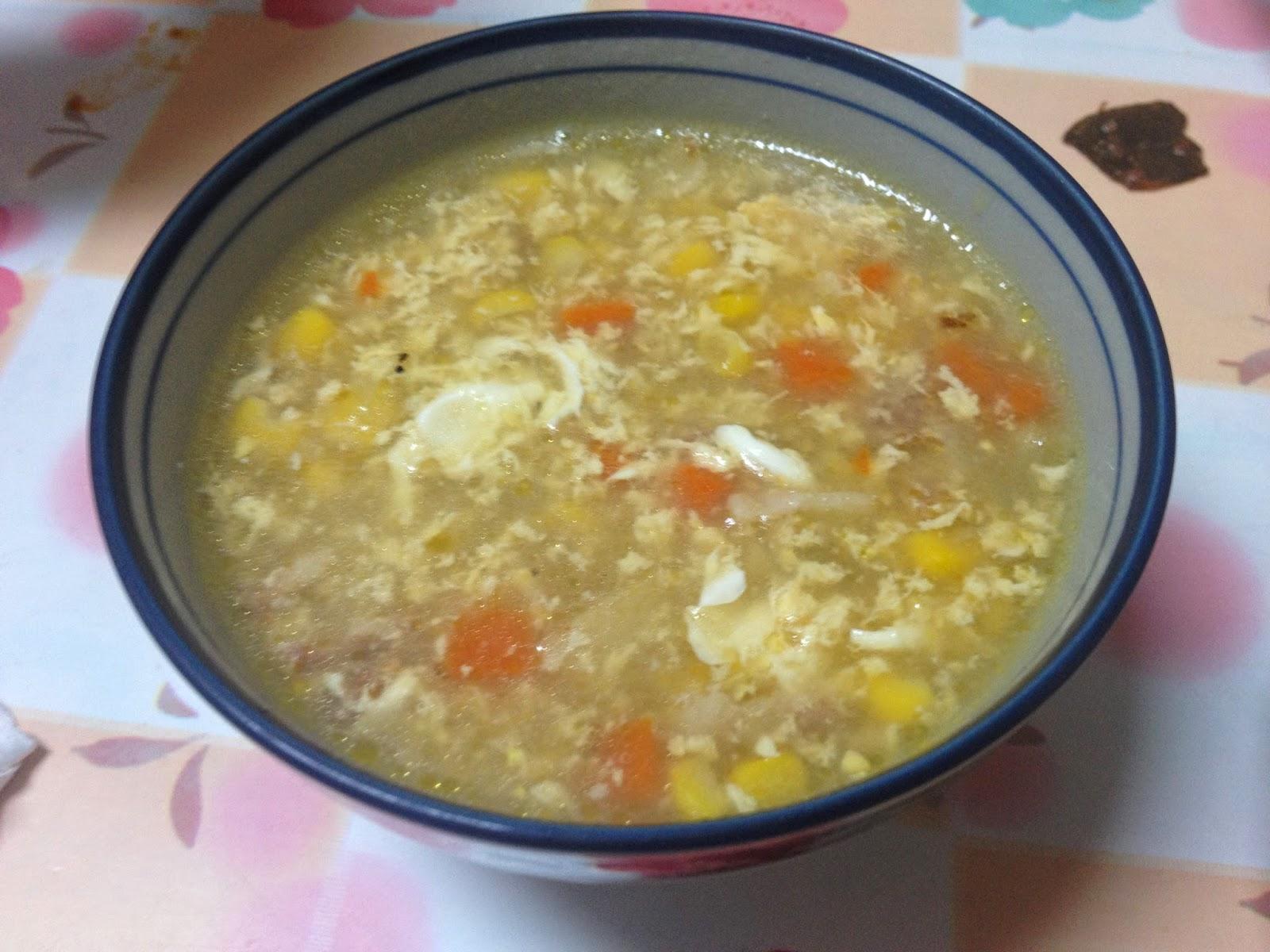 【靜姐上菜】Jean的廚房飲食歡樂記: 臺式玉米濃湯